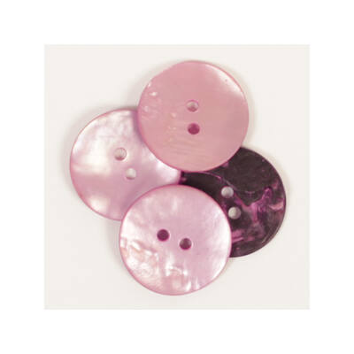 Drops Gyöngyház gomb, rózsaszín