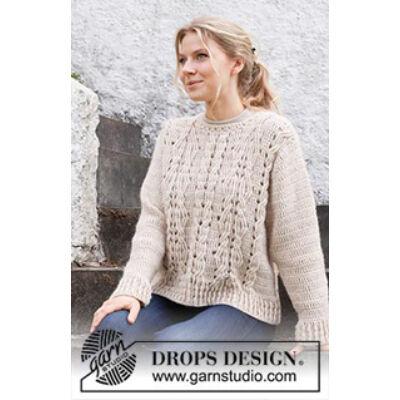 Horgolt női pulóver