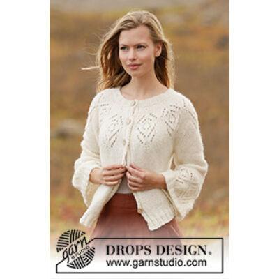 Kötött női rövid ujjú pulóver