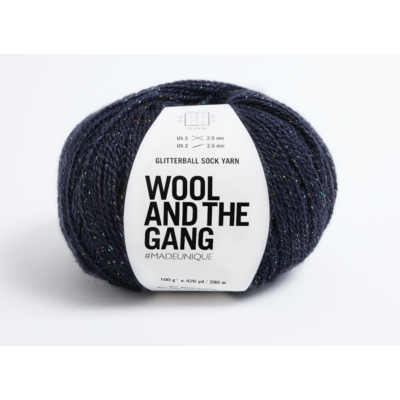 Wool And The Gang Glitterball Sock Yarn